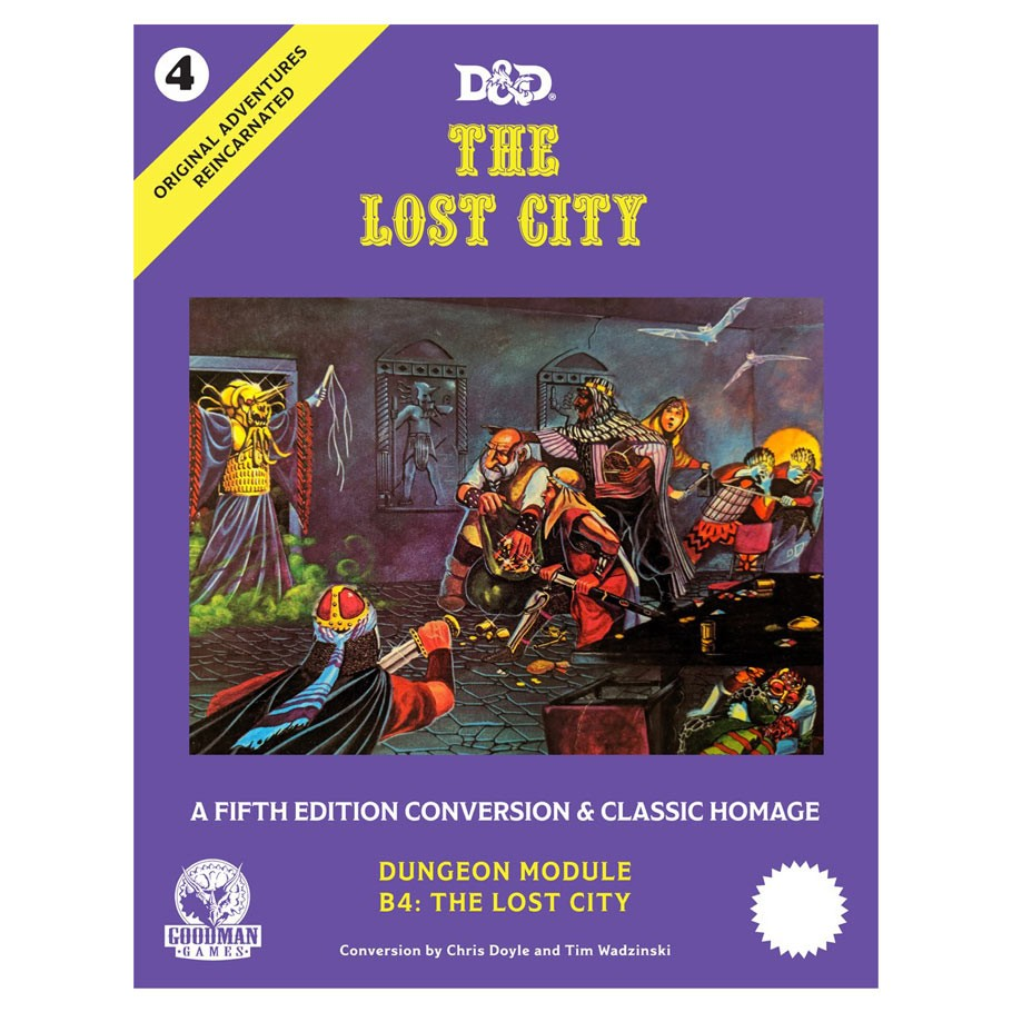 D&D The Lost City