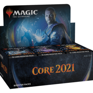 Core 2021 booster display