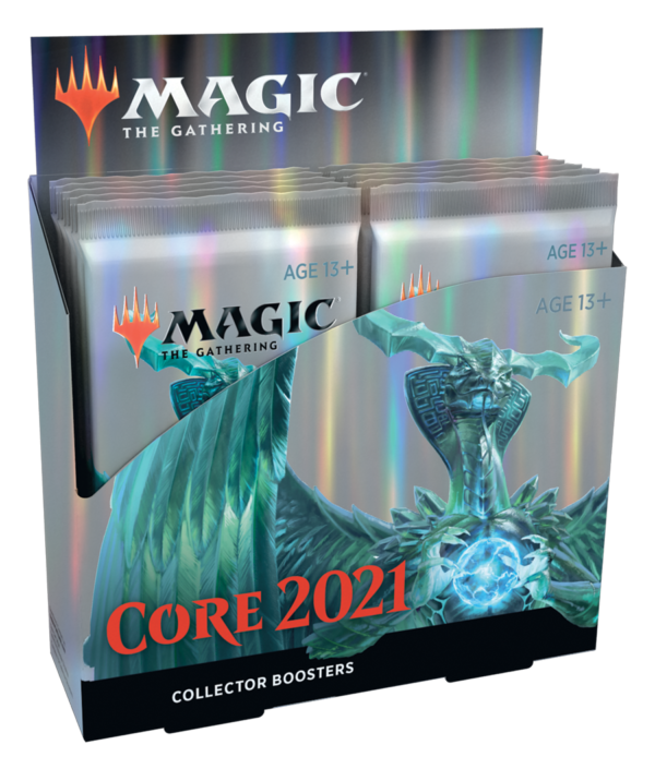 Core 2021 Collector Booster Display