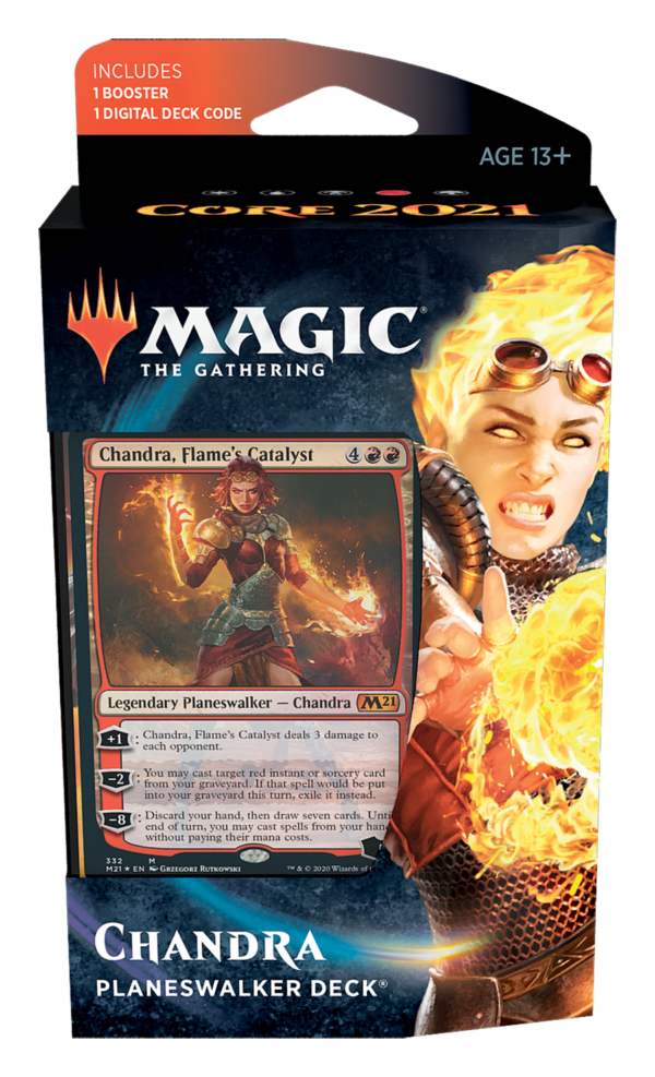 Core 2021 Planeswalker Deck Chandra