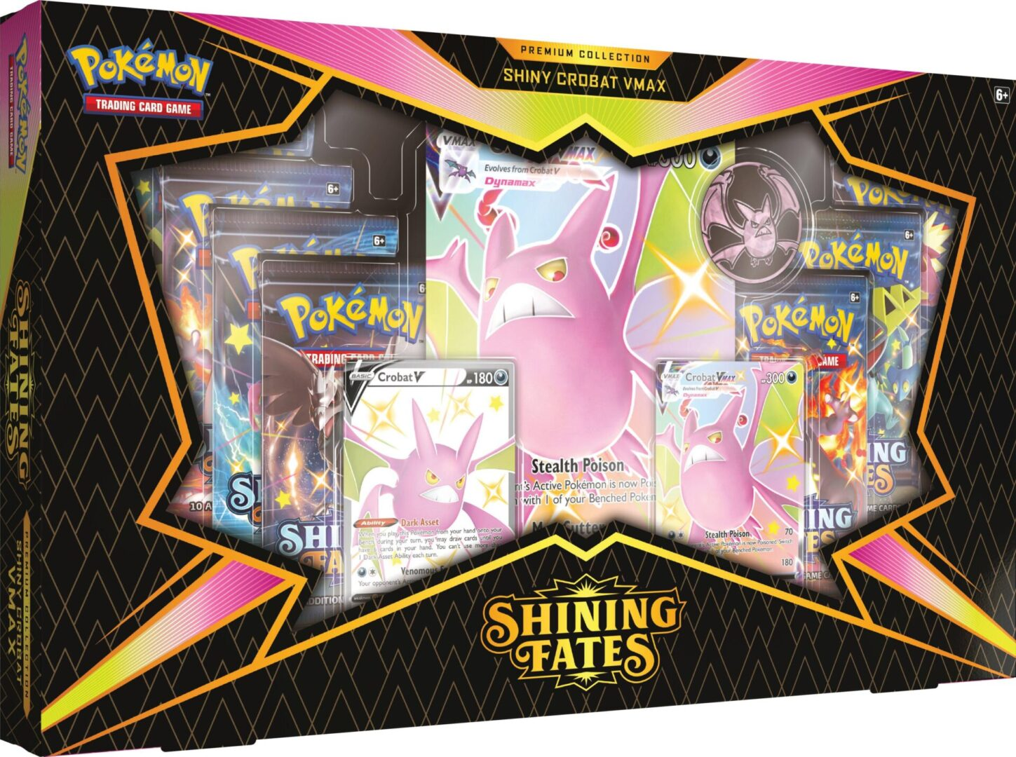 Shining Fates Crobat V Premium Collection
