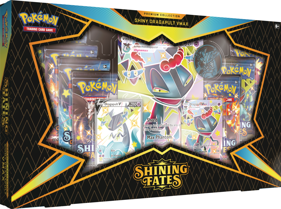 Shining Fates Dragapult V Premium Collection