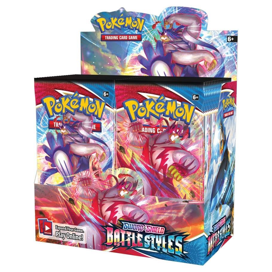 Pokemon Battle Styles Booster Box