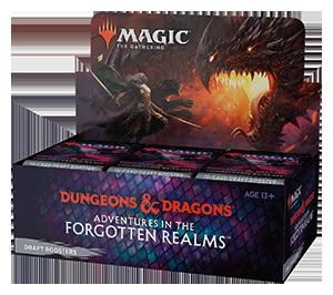 Magic Forgotten Realms Draft Booster Box