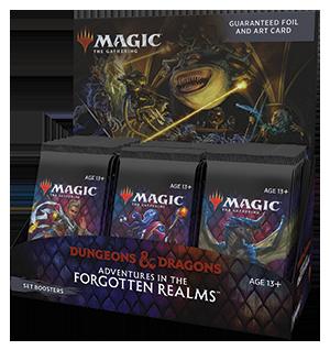 Magic Forgotten Realms Set Booster Box